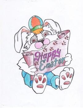 Easter Bunny Clip Art Fun
