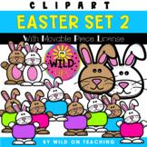 Easter Bunny Clip Art | Set 2