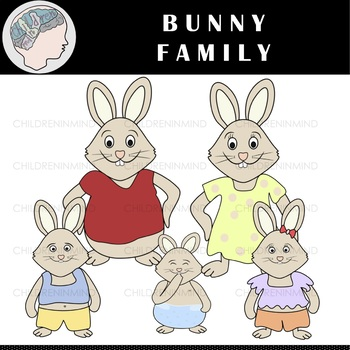 Bunny spring. Easter clipart