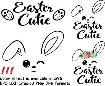 Easter Bunny Clipart Silhouette Glitter Rabbit Carrot Egg Hunt Outline 760s
