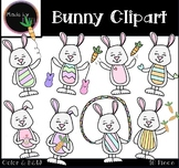 Easter Bunny Clipart - Spring Clipart