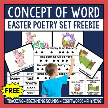 Easter Concept of Word Poetry Freebie