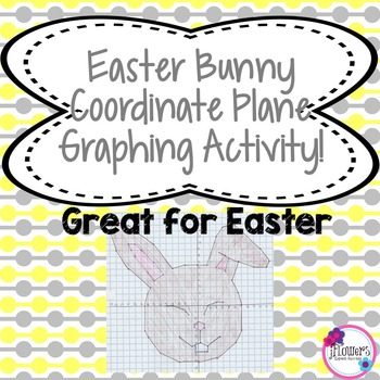 Easter Bunny Coordinate Plane Graphing Activity Great for Easter!