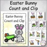 Easter Bunny Count and Clip