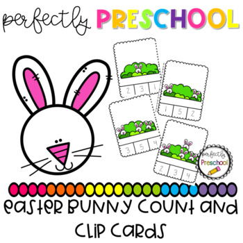 Easter Bunny Count and Clip {Dollar Deal}