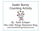 Easter Bunny Counting Activity