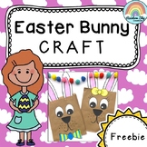Easter Bunny Craft - Freebie (Easter Craftivity)