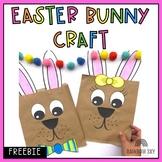 Easter Bunny Craft - Freebie (Easter Craftivity)