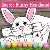 Easter Bunny Craft Hat  / Crown Template Bunny Headband /