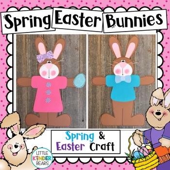 Easter Bunny Craft Spring Craft