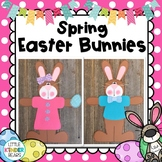 Easter Bunny Girl & Boy Spring Craft