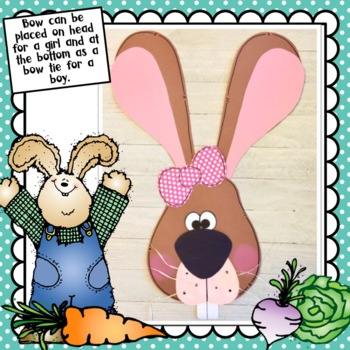 Easter Bunny Craft & Writing Activities