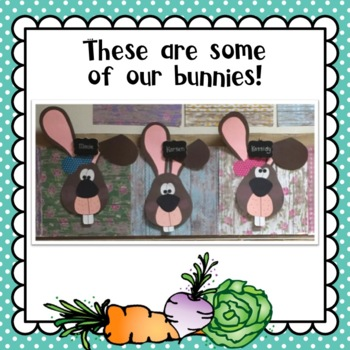 Spring and Easter Bunny Craft