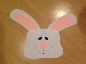 Easter Bunny Craftivity and Printables