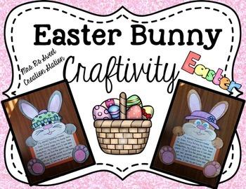 Easter Bunny-Craftivity