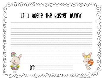 Easter Bunny Craftivity {Common Core Aligned}