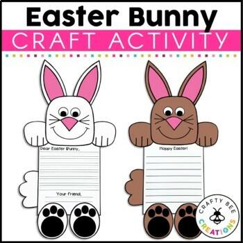 Easter Bunny Craftivity