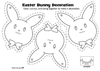 Easter Bunny Decoration