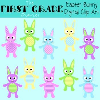 Easter Bunny {Digital Clip Art}