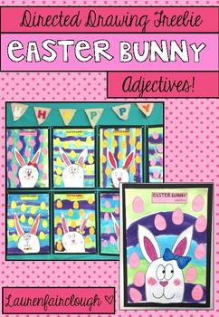 Easter Bunny Drawing Freebie