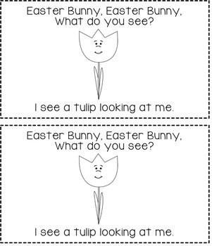 Easter Bunny, Easter Bunny, What Do You See? Reader