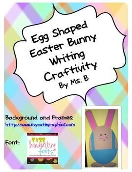 Easter Bunny Egg Craftivity