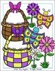 Easter Bunny Egg Hunt Clip Art Set - Chirp Graphics