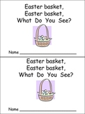 Easter Bunny Emergent Reader for Preschool Kindergarten