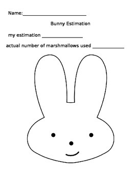 Easter Bunny Estimation