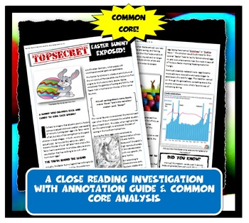 Easter Bunny Exposed: Lesson Plan with Graphic Organizer