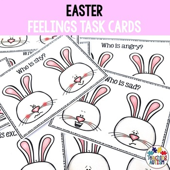Easter Feelings and Emotions Task Cards