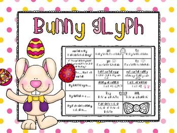 Easter Bunny Glyph & Activities