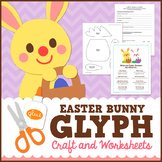 Easter Bunny Glyph Craft and Worksheets