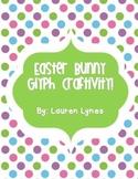 Easter Bunny Glyph Craftivity!