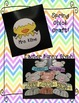Easter Bunny Glyph & Spring Chick Craft