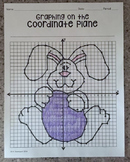 Easter Bunny (Graphing on the Coordinate Plane/ Mystery Picture)