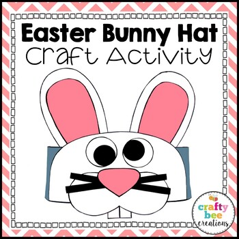 Easter Bunny Hat Craft