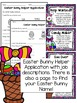 Easter Bunny Helper Application and Activities
