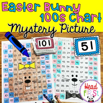 Easter Bunny Hundreds Chart Mystery Picture