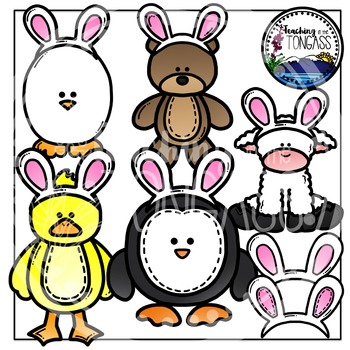 Easter Clipart Bunny Imposter Animals