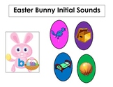 Easter Bunny Initial Sounds Picture Matching Common Core Standards