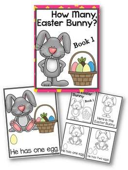 Adapted Books Easter Bunny Number