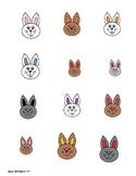 Easter Bunny Describing Language Building Games