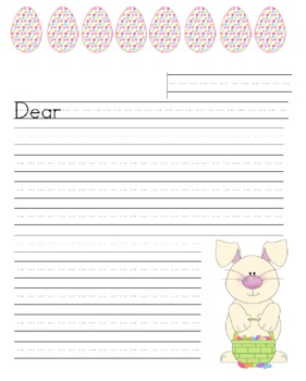 Easter Bunny Letter activity