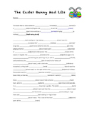Easter Bunny Mad Libs
