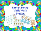 Easter Bunny Math Work Station for Counting and Cardinality