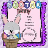 Easter Bunny Math and Literacy Fun