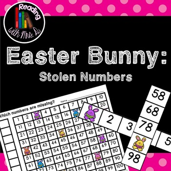 Easter Bunny Missing Stolen Numbers