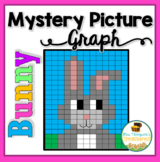 Easter Math - Mystery Picture Graph Bunny