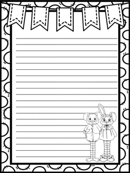 Easter Bunny Narrative Essay Creative Story Writing Prompt Common Core Aligned